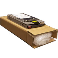 Hard Disk Drive box with 2m bubblewrap